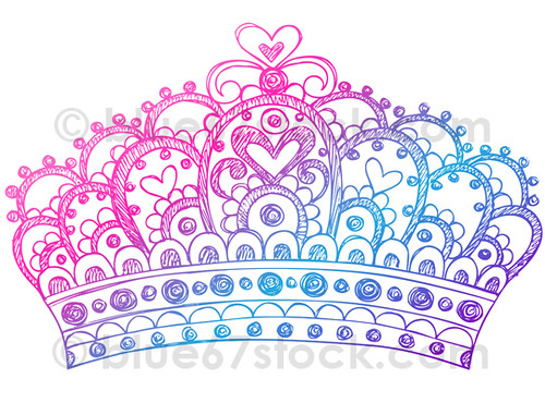 hand drawn sketchy princess tiara crown doodle drawing vec flickr crown vector free download crown vector file