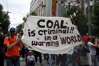 Coal is criminal in a warming world. | by John Englart (Takver)