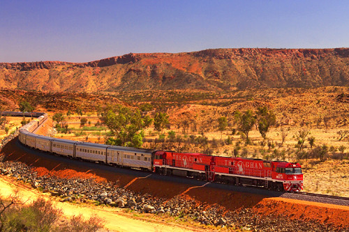 The Ghan, Australia | by Train Chartering & Private Rail Cars