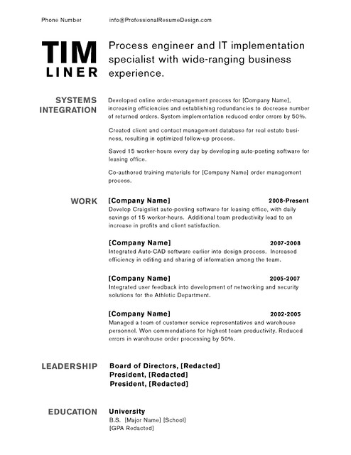 professional resume design tim resume design and