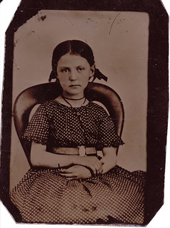 Girl on a Chair Tintype | by LJMcK