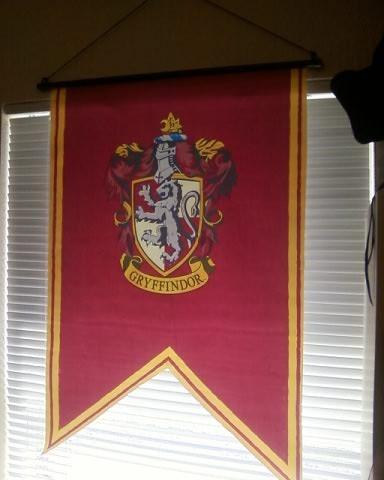 ... The Gryffindor House Flag | By TXsunDWN