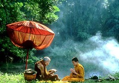 Forest Monks Passing Knowledge | by tsemtulku