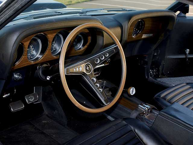 boss 429 1969 ford mustang interior by a69mustang4me