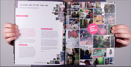map magazine interior spread | magazine design, brand identi… | flickr