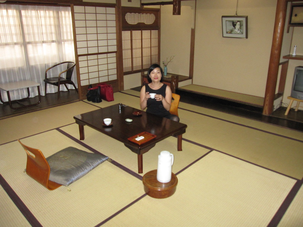 Our Ryokan Room 10 Tatami Mat Size Lili Chin Flickr
