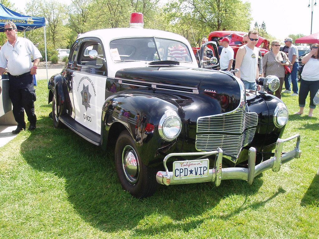 1940 Dodge Police Car Photographed At Kool April Nights