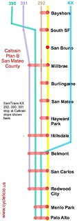Caltrain Plan B Samtrans | by Richard Masoner / Cyclelicious