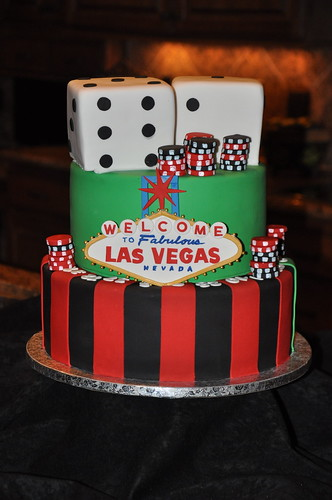 Wedding Cake Vegas Sign