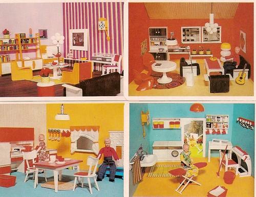 1972 puppenhausquartett modella zimmer diepuppenstubensammlerin flickr. Black Bedroom Furniture Sets. Home Design Ideas
