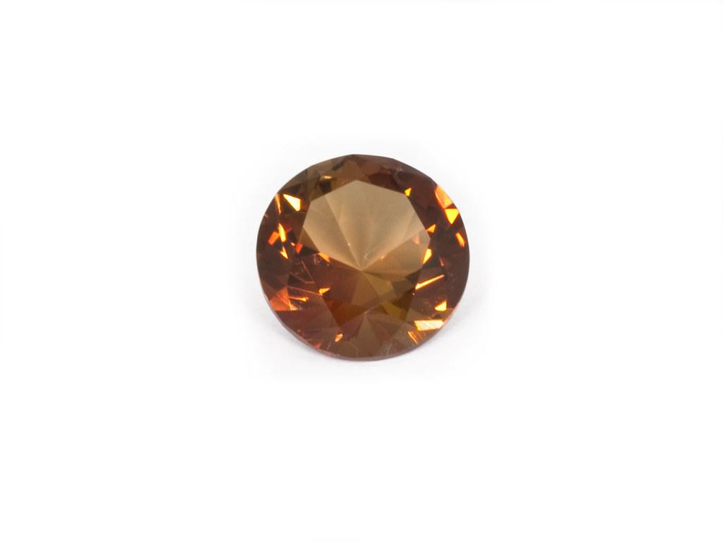 Vivid Gemstones Zircon Zir3 This Natural Round Brillia Flickr Yellow By Vividgemstones
