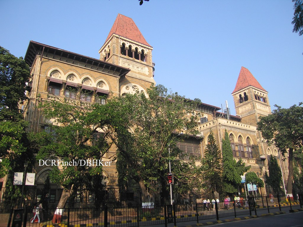 General Post Office Bombay 1872 Churchgate St Fort