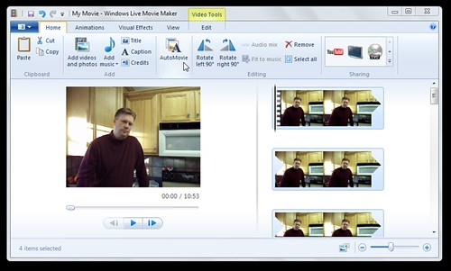3d Image Maker >> Auto Movie feature in Windows Live Moviemaker | Wesley Fryer | Flickr