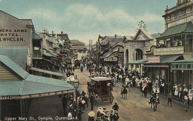 Gympie Australia  City pictures : Crowds attending parade Upper Mary St Gympie Queensland | Flickr