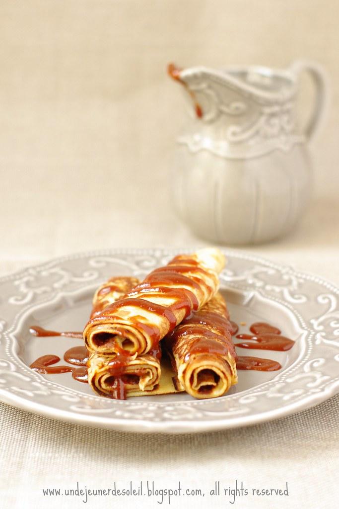 cr 234 pes au caramel et beurre sal 233 recette ricetta recipe on flickr