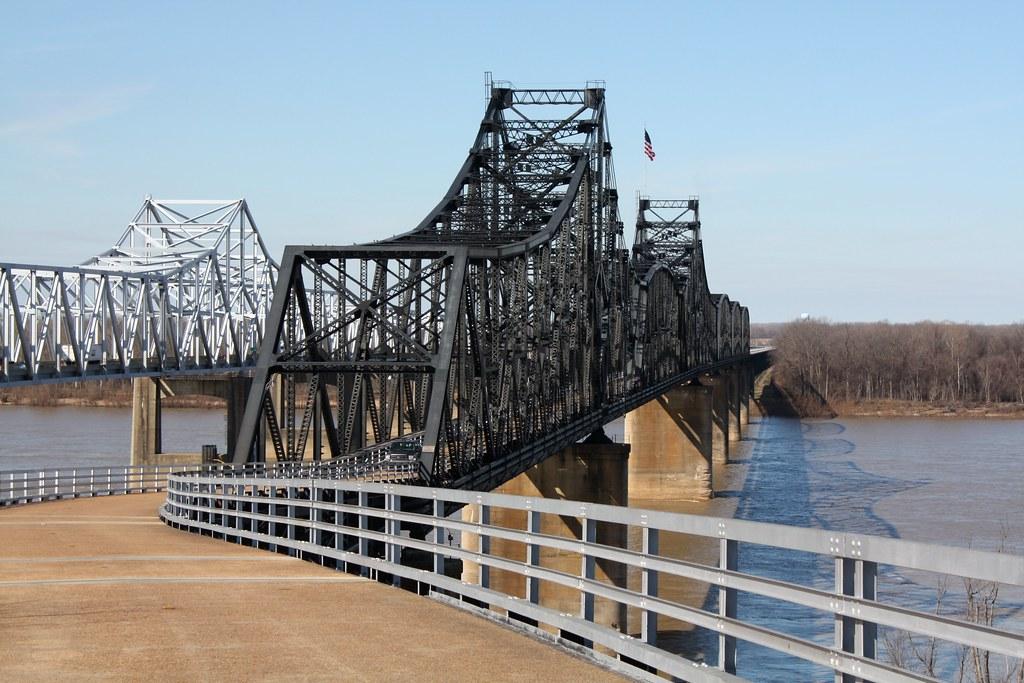 Old Mississippi River Bridge The Old Mississippi River