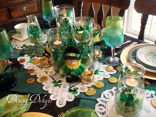 St patrick 39 s day tablescape dining delight flickr for Decor st