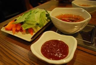 Cold Soup, Gochujang, Vegetables - Flying Chicken | by avlxyz