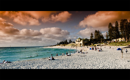 Cottesloe beach at sunset | by KC Tan Photography