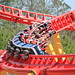 Intimidator 305 train turns