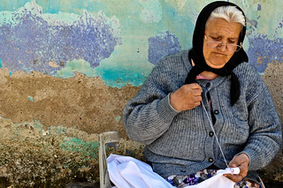 Romanian Seamstress | by goingslowly