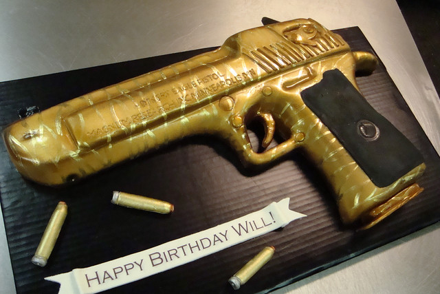Desert Eagle Cake Tiger Striped Edition 24 Quot Long