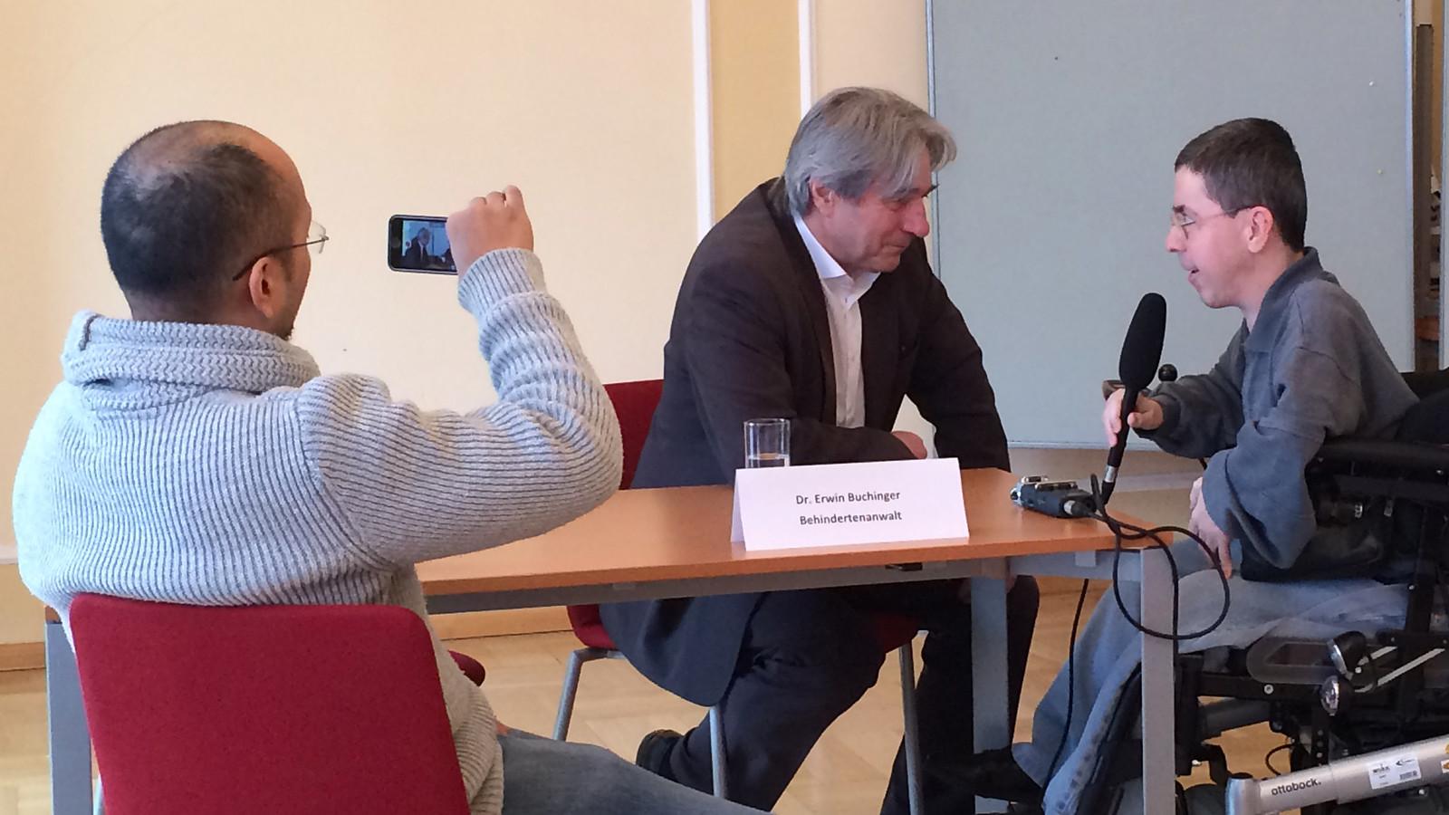 Interview mit Dr. Erwin Buchinger