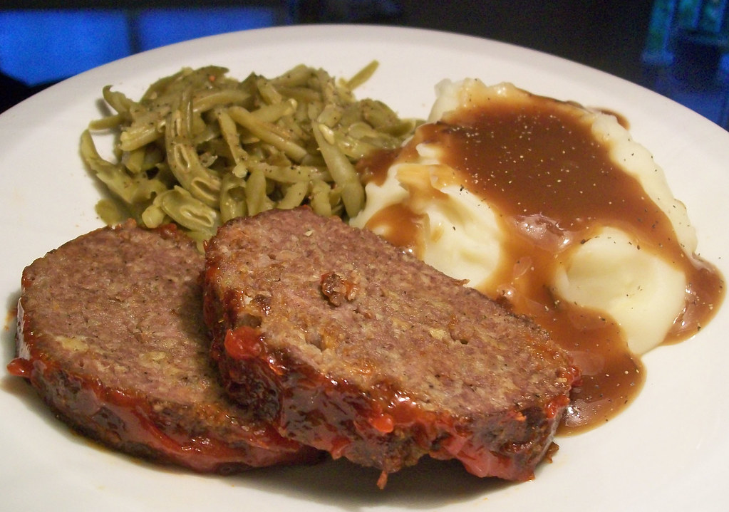 meatloaf   mashed potatoes this meatloaf was awesome and potato clipart hat potato clipart pic
