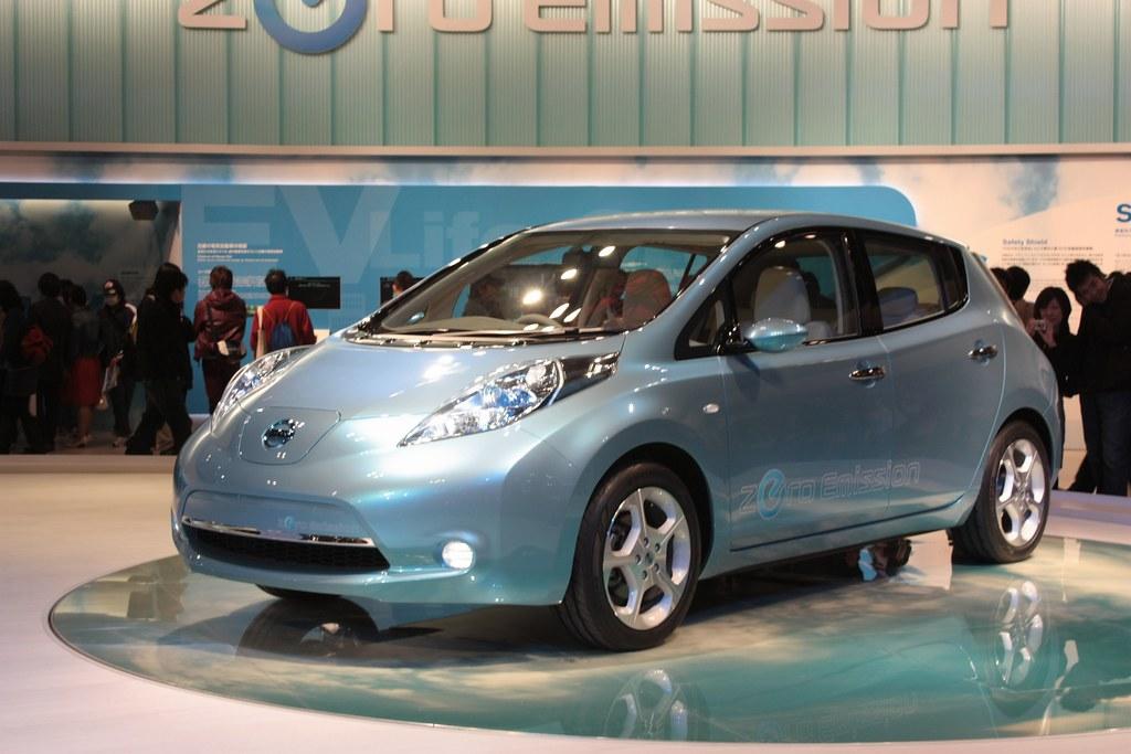 Nissan Leaf 1 2009 Tokyo Motor Show At Makuhari Messe J