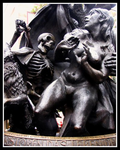 Death and the Beautiful Woman , Nuremberg ,Germany | by moonjazz