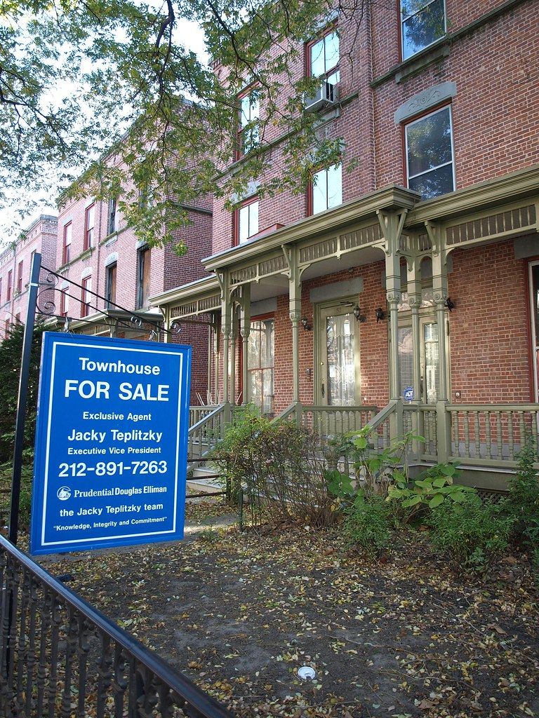 astor row townhouse for sale harlem new york city flickr