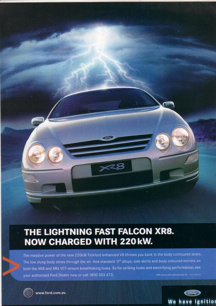 2001 Ford Au Falcon Xr8 Series 3 Ad Au Falcon Xr8 Series 3 Flickr