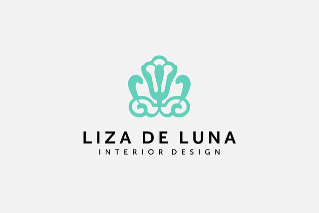 Liza de luna logo design client liza jimenez name for Interior designs logos