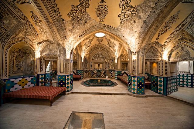 Soltan Amir Ahmad Historic Bath Kashan Iran حمام