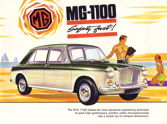 Mg 1100 1966 Brochure Britain This Is The Cover Of A