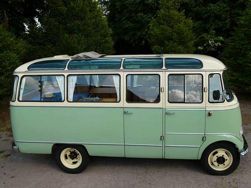 Mercedes benz o 319 reisebus 1958 car and classic co uk for Mercedes benz 319 bus for sale