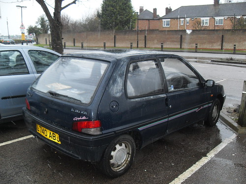1993 peugeot 106 1 1 xn graduate the 106 is getting old no flickr. Black Bedroom Furniture Sets. Home Design Ideas
