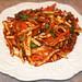 Adam Vance' spicy squid dish(ojinguhbokkeum)