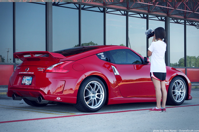 Nissan 370z Nismo With Enkei Pf01 Wheels Alex Nunez Flickr