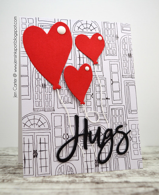 CIC394 Jen Carter Balloon Hugs