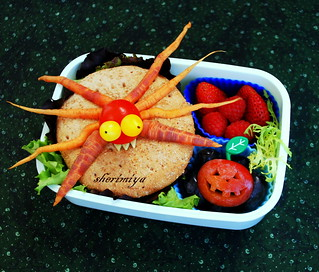Spidery Monster Bento | by sherimiya ♥
