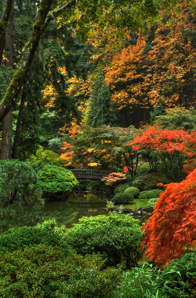 Portland Japanese Garden Portland Oregon Portland Japane Flickr