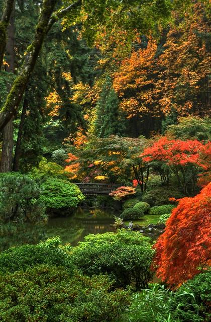Portland Japanese Garden Portland Oregon Flickr Photo Sharing