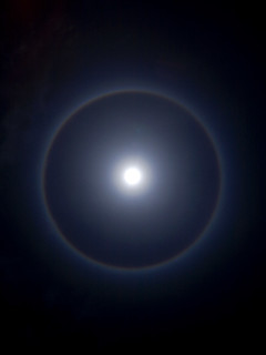 ring around the moon was taken in kuantan outside