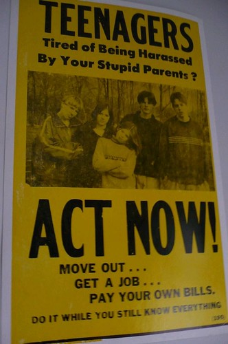 Teenagers Act Now poster | by Contra Costa Times