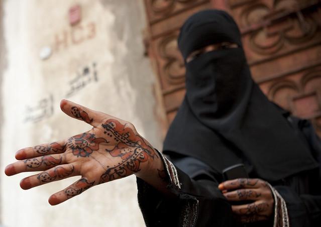 Saudi Arabia Jeddah Somali Girl With Henna On Hands Flickr