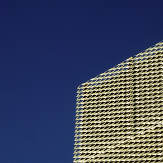 gold steel and blue sky | by SteMurray