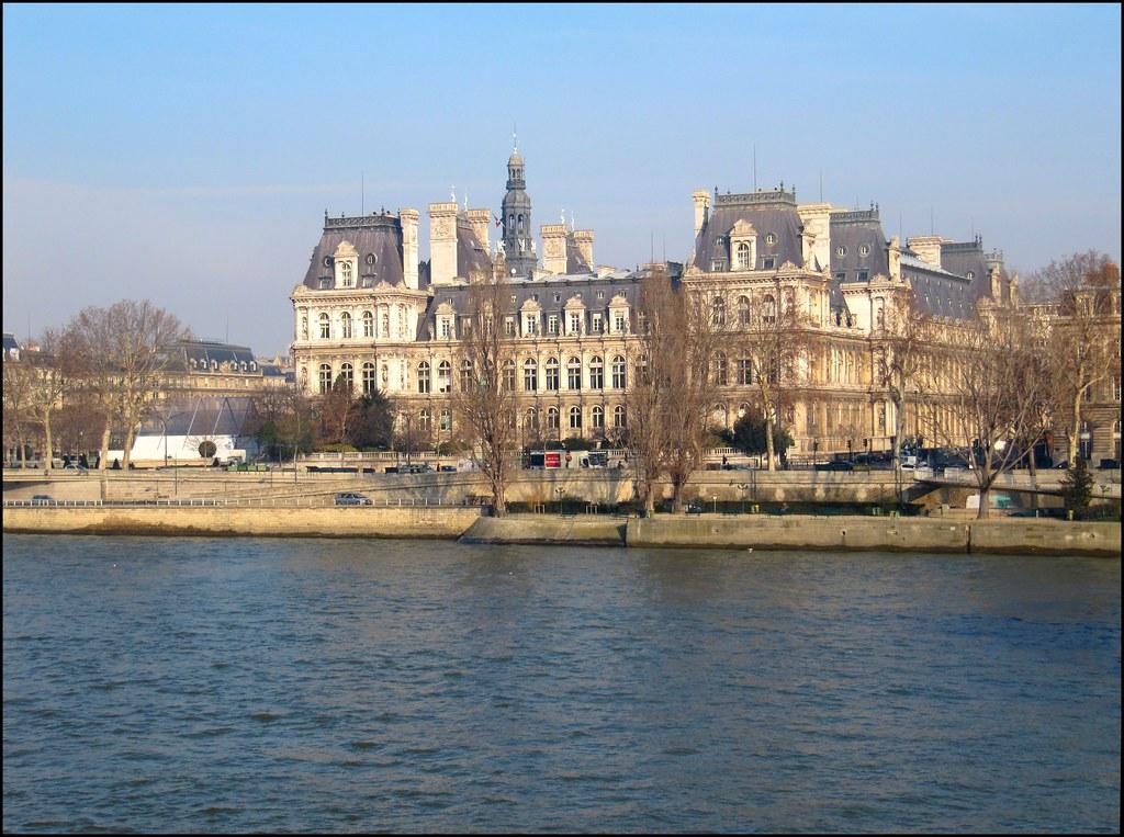 H tel de ville de paris vue de l 39 ile saint louis ce n 39 e flickr - Hotel ile saint louis ...