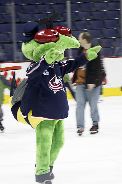 Blue Jackets Stinger | Blue Jackets Stinger mascot. He was o… | Flickr