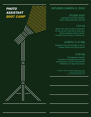 Photo Assistant Boot Camp | by AdamHanson